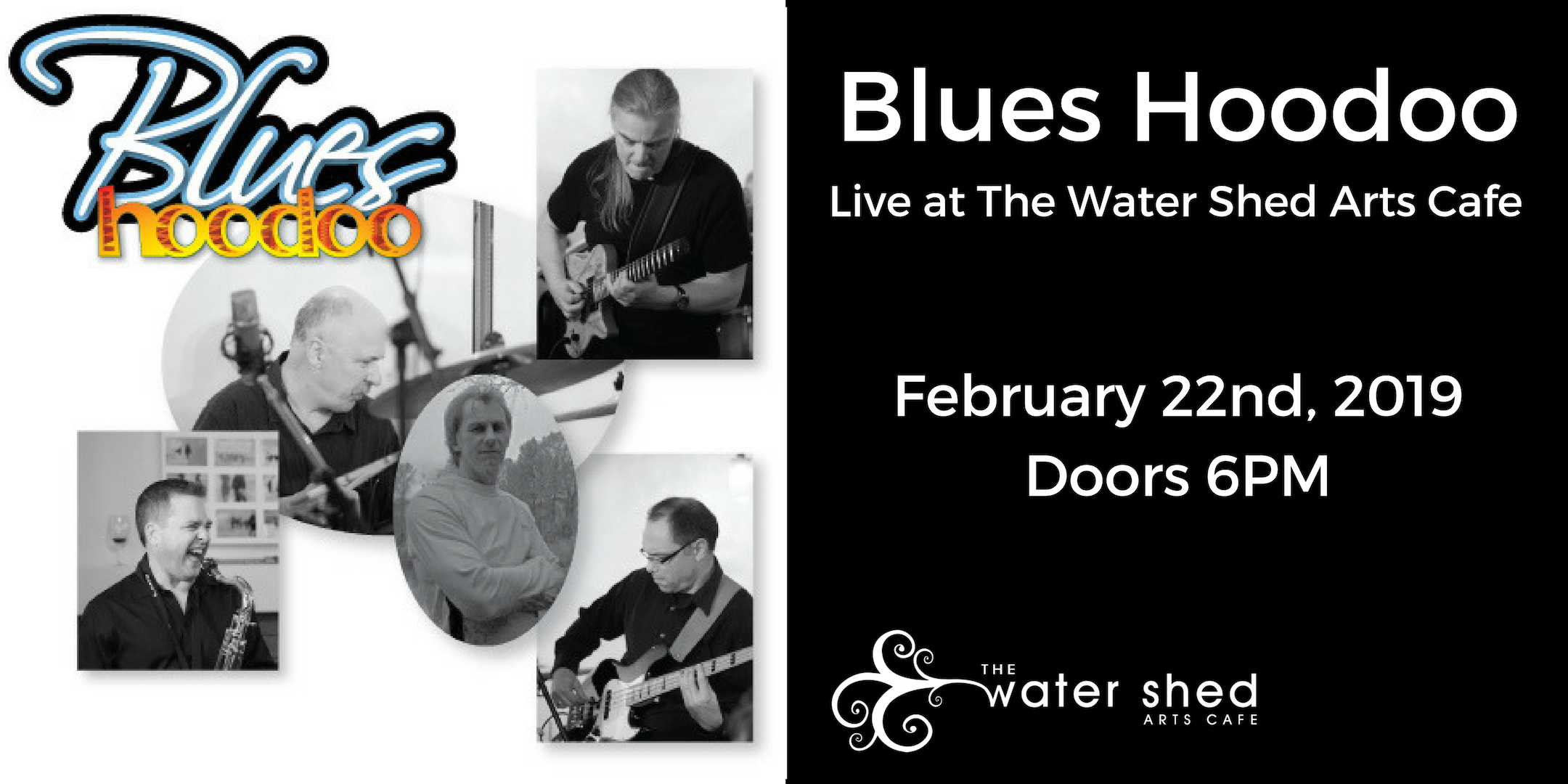 Blues Hoodoo Live at the Water Shed | The Water Shed Arts Cafe